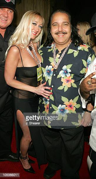 Ron Jeremy and Tabitha Stevens during 2004 Billboard Music Awards Teatro Grand Opening Hosted by Usher at Teatro in Las Vegas Nevada United States