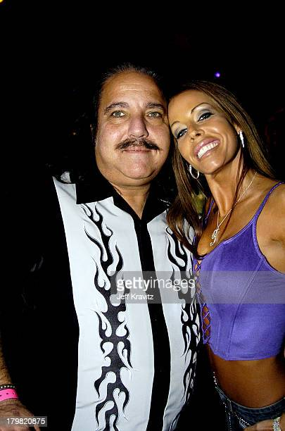 Ron Jeremy and Tabitha Stevens during VH1 Big in '04 Backstage and Audience at Shrine Auditorium in Los Angeles California United States