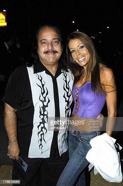 Ron Jeremy and Tabitha Stevens during VH1 Big in '04 Red Carpet at Shrine Auditorium in Los Angeles California United States