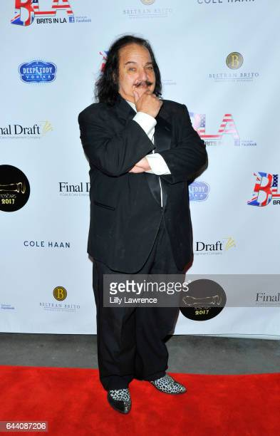 Ron Jeremy arrives at 10th Annual Toscars at The Renberg Theatre on February 22 2017 in Los Angeles California