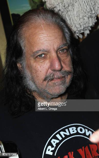 Ron Jeremy attends the Film Opening of 'Return to Return to Nuke 'Em High Aka Vol 2 ' held at Laemmle's Ahrya Fine Arts Theatre on March 8 2018 in...