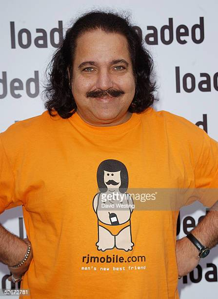 Ron Jeremy attends the Loaded Relaunch Party relaunching the men's monthly magazine at Portland Place on April 20 2005 in London Dita Von Teese makes...