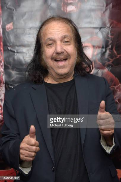 Ron Jeremy attends the premiere of Sunset Society at Downtown Independent on July 6 2018 in Los Angeles California