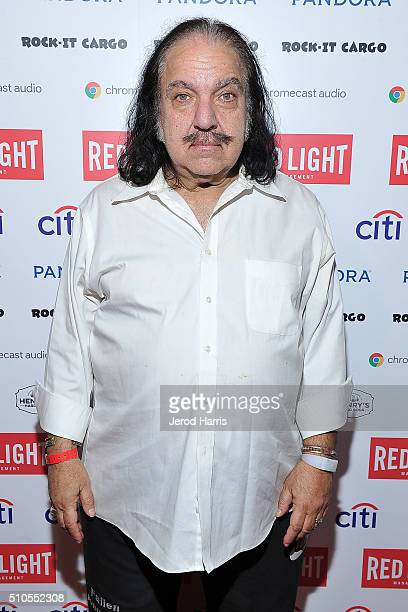 Ron Jeremy attends the Red Light Management Grammy after party presented by Citi at the Mondrian Hotel on February 15 2016 in Los Angeles California