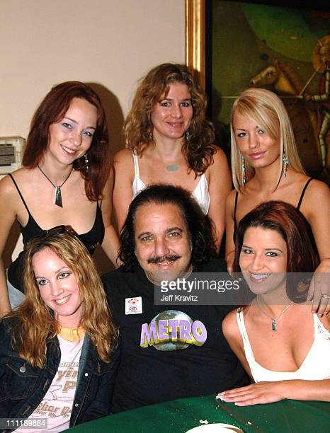 Ron Jeremy during 2005 Skylar Neil Memorial Golf Tournament for TJ Martell at Malibu Country Club in Malibu California United States