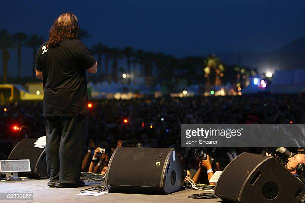 Ron Jeremy during 2007 Coachella Valley Music and Arts Festival Day 1 at Empire Polo Field in Indio California United States