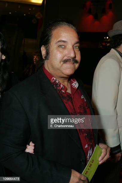 Ron Jeremy during New Line Cinema's Domino Los Angeles Premiere at Grauman's Chinese Theatre in Los Angeles California United States