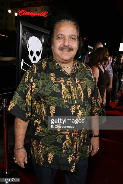 Ron Jeremy during World Premiere of Paramount Pictures' 'Jackass Number Two' at Grauman's Chinese Theatre in Los Angeles California United States