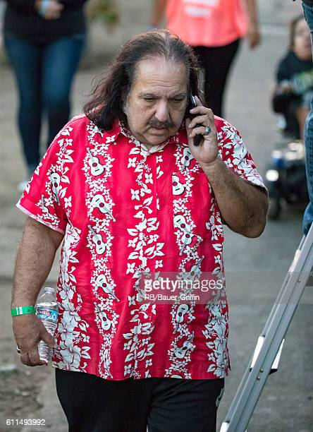 Ron Jeremy is seen at 'Jimmy Kimmel Live' on September 29 2016 in Los Angeles California