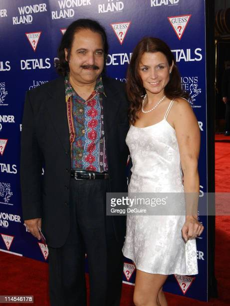 Ron Jeremy Laurie Holmes during Wonderland Premiere hosted by DETAILS GUESS Arrivals at Grauman's Chinese Theatre in Hollywood California United...