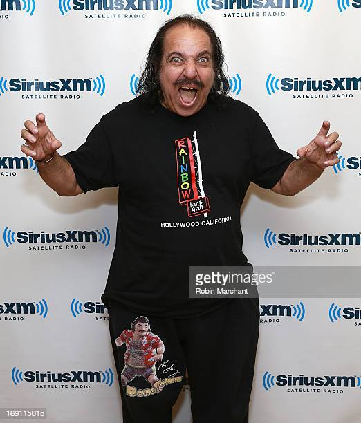 Ron Jeremy visits at SiriusXM Studios on May 20 2013 in New York City