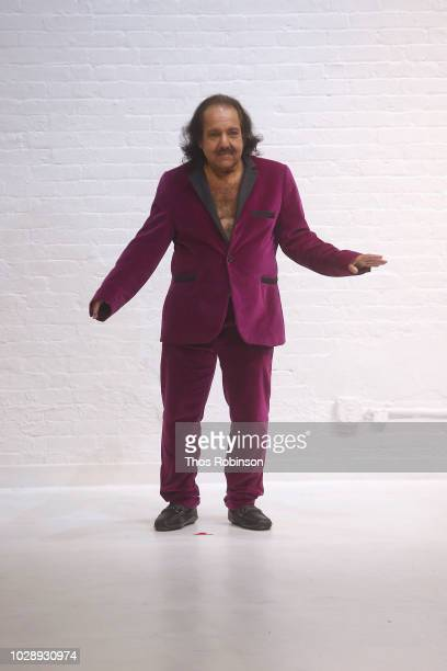 Ron Jeremy walks the runway at Athanasiu SS19 Collection during New York Fashion Week on September 7 2018 in New York City