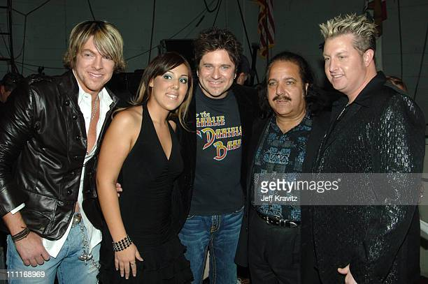 Ron Jeremy with the Rascal Flatts and guest *EXCLUSIVE*