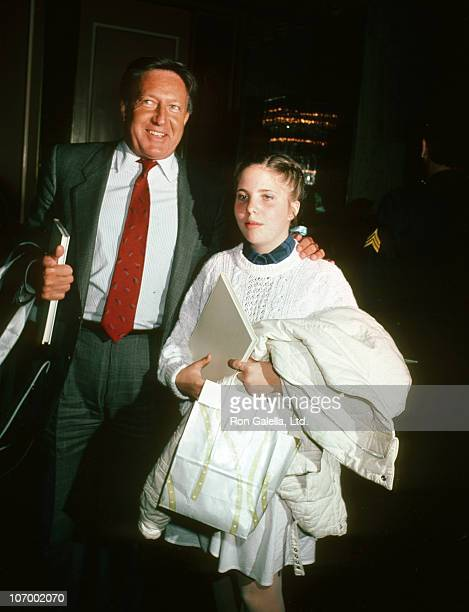 Ron Kass and Daughter Katyana Kass during Celebrity Mother Daughter Fashion Show Mars 28 1985 at Beverly Hilton Hotel in Beverly Hills California...