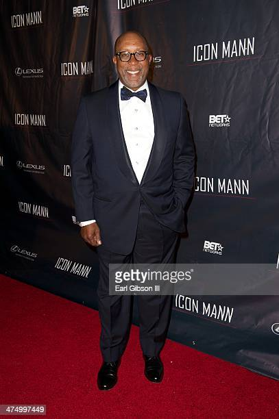 Ron Kirk attends the Icon Mann's 2nd Annual Power 50 PreOscar Dinner at Peninsula Hotel on February 25 2014 in Beverly Hills California