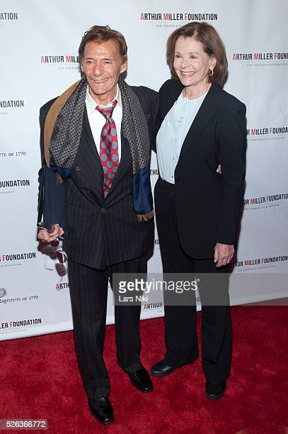 Ron Leibman and Jessica Walter attend the Arthur Miller One Night 100 Years benefit at the Lyceum Theatre in New York City �� LAN