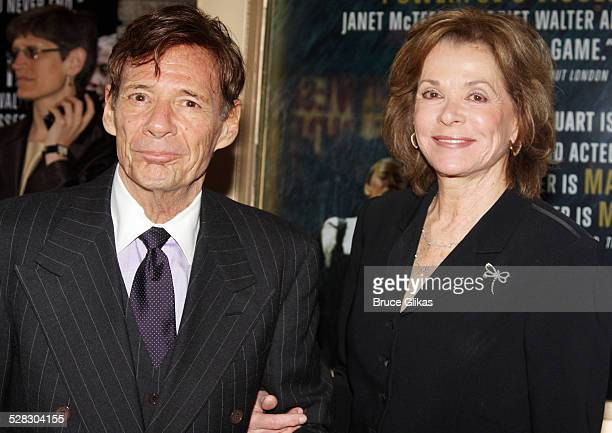 Ron Leibman and Jessica Walter attend the opening night of Mary Stuart on Broadway at the Broadhurst Theatre on April 19 2009 in New York City