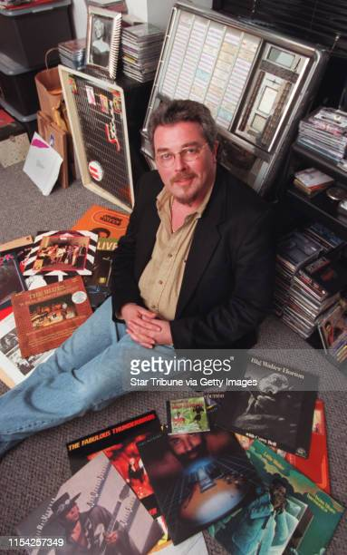 Ron Levy is a big jazz blues man. He opened his own record label Cannon Ball Label. His office is full of tons of instruments, posters, music pieces....