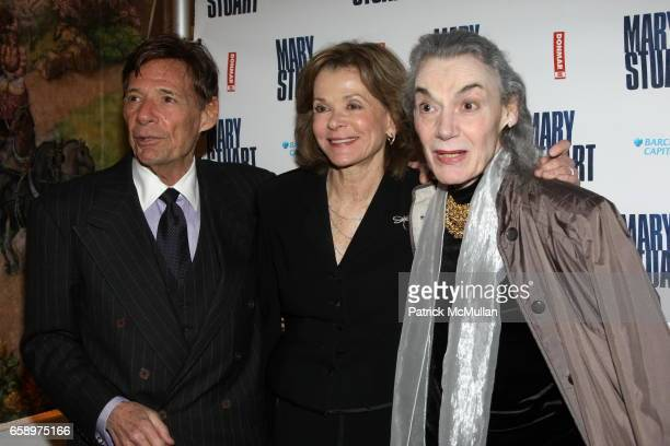 Ron Liebman Jessica Walter and Marian Seldes attend Mary Stuart Opening Night on Broadway at Broadhurst Theatre on April 19 2009 in New York City