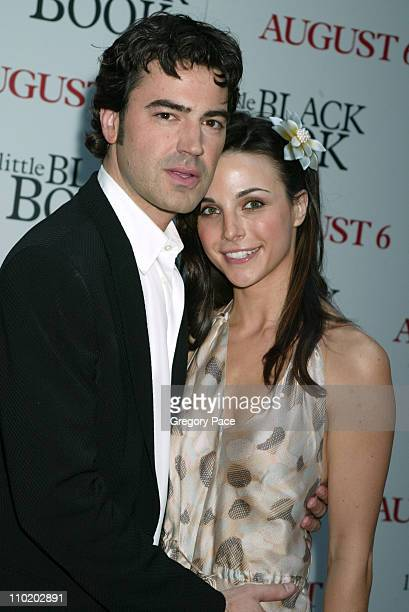 Ron Livingston and fiancee Lisa Sheridan during Little Black Book New York Premiere Arrivals at Ziegfeld Theater in New York City New York United...