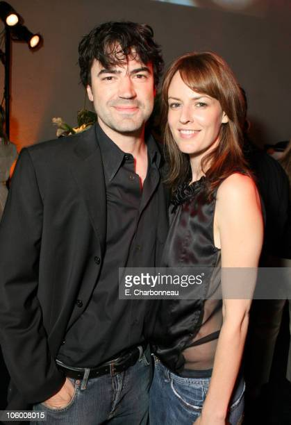 Ron Livingston and Rosemarie DeWitt during Entertainment Weekly Magazine 4th Annual Pre-Emmy Party - Inside at Republic in Los Angeles, California,...