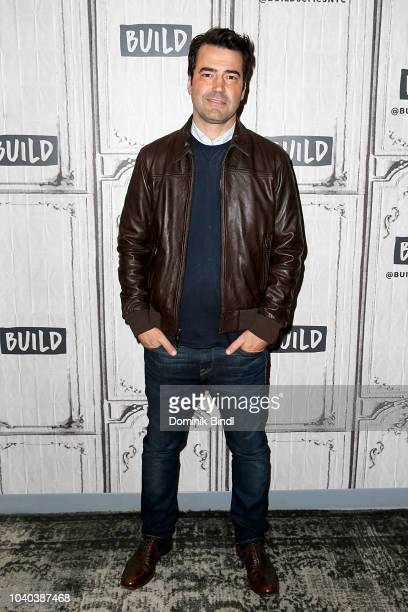 Ron Livingston attends the Build Series to discuss 'A Million Little Things' at Build Studio on September 25 2018 in New York City