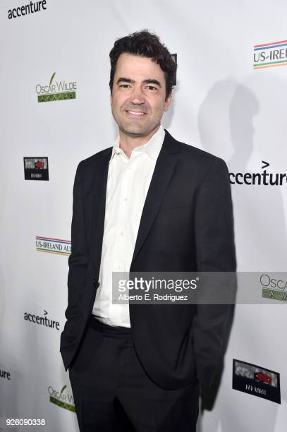 Ron Livingston attends the Oscar Wilde Awards 2018 at Bad Robot on March 1, 2018 in Santa Monica, California.