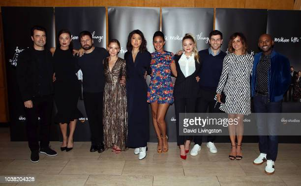 Ron Livingston Christina Ochoa James Roday Allison Miller Grace Park Christina Marie Moses Lizzy Greene David Giuntoli Stephanie Szostak and Romany...