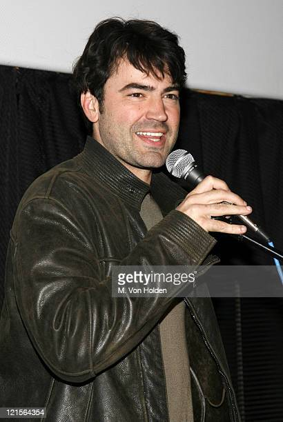 """Ron Livingston during 14th Annual Hamptons International Film Festival - Screening of """"Holly""""- Arrivals and Inside at United Artist Theatre in East..."""