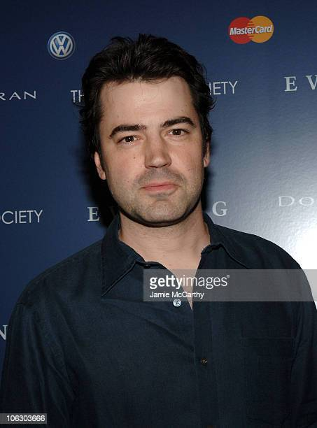 Ron Livingston during The Cinema Society Donna Karan Host the NY Premiere of Evening at Chelsea West Theatre in New York City New York United States