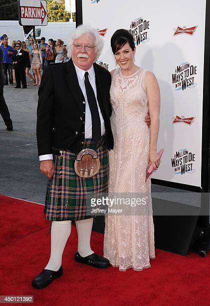 Ron MacFarlane and Rachael MacFarlane arrive at the Los Angeles premiere of 'A Million Ways To Die In The West' at Regency Village Theatre on May 15,...