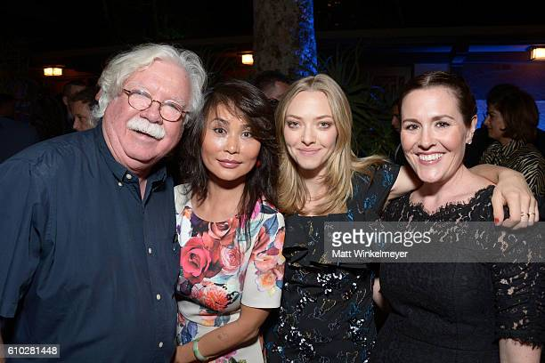 Ron MacFarlane Xiao Xiang Amanda Seyfried and Rachael MacFarlane attend the Heaven On Earth Gala The Perry MacFarlane Legacy honoring 20th Century...