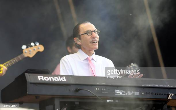 Ron Mael of Sparks performs at Common People Festival on Southampton Common on May 26 2018 in Southampton England