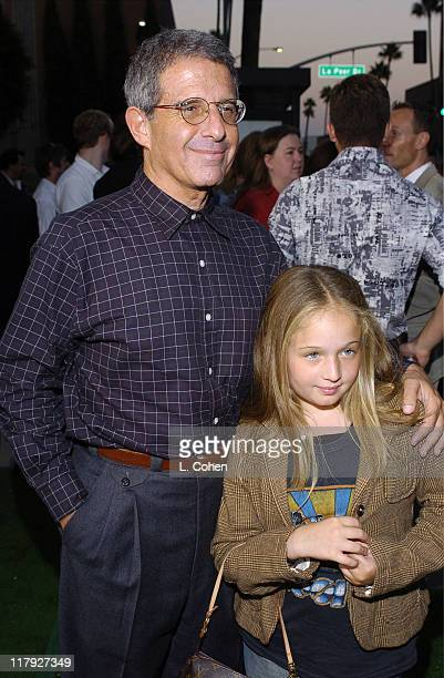 Ron Meyer president of Universal and daughter during Wimbledon World Premiere Green Carpet Arrivals at Samuel Goldwyn Theater in Beverly Hills...
