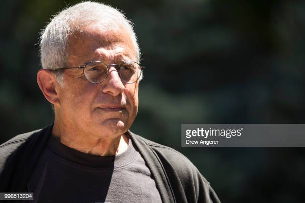 Ron Meyer vice chairman of NBCUniversal attends the annual Allen Company Sun Valley Conference July 11 2018 in Sun Valley Idaho Every July some of...