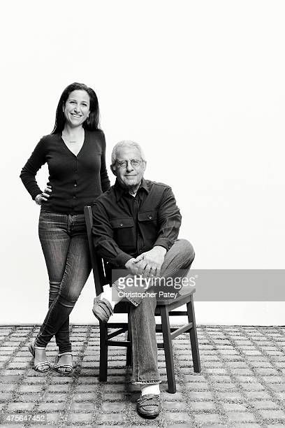 Ron Meyer Vice Chairman of NBCUniversal is photographed with his daughter Sarah Meyer for The Hollywood Reporter on May 7 2013 in Malibu California