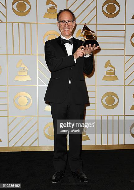 Ron Mohrhoff poses in the press room at the The 58th GRAMMY Awards at Staples Center on February 15 2016 in Los Angeles California