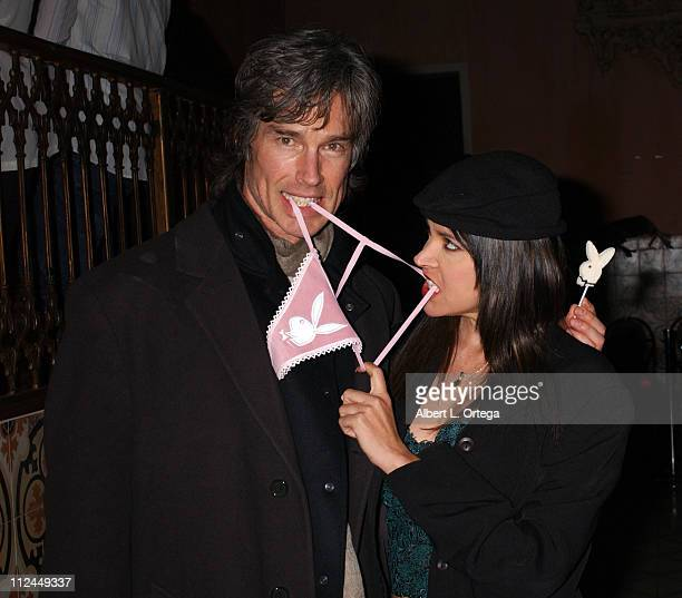 Ron Moss and Devin DeVasquez during Playboy Fashion Show to Kickoff Valentine's Day with Spring Collection by JH Design Group at The Spider Club in...