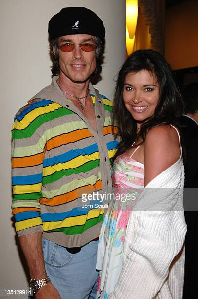 Ron Moss and Devin DeVasquez during Smile Los Angeles Premiere After Party at Arclight Theater in Hollywood California United States