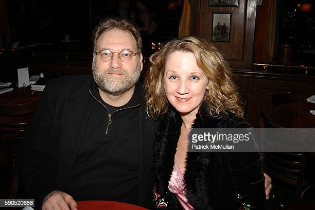 Ron Orbach and Kathleen Orbach attend Kim Garfunkel performance at Au Bar on January 17 2005 in New York City