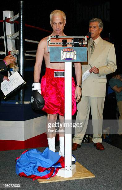 Ron Palillo during 'Celebrity Boxing 2' WeighIn at KTLA Studios in Hollywood California United States