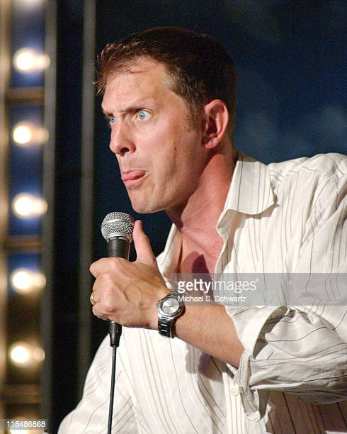 Ron Pearson during Comedians Perform for the Bienvenidos Children Center at The Ice House at The Ice House in Pasadena, California, United States.
