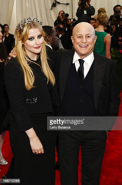 Ron Perelman and daughter Samantha Perelman attend the Costume Institute Gala for the PUNK Chaos to Couture exhibition at the Metropolitan Museum of...