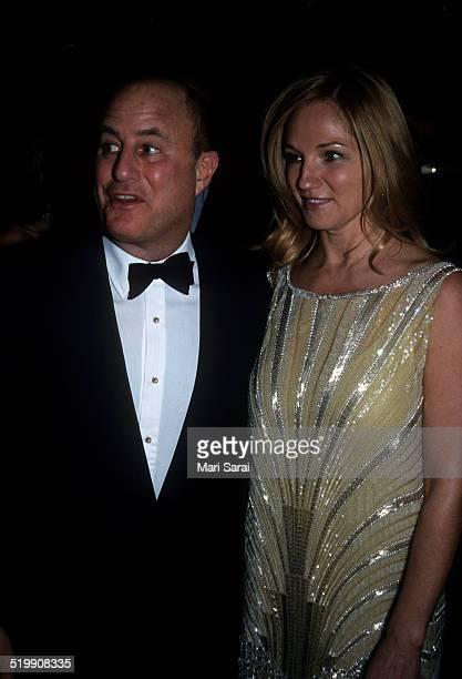 Ron Perelman and Ellen Barkin at the Metropolitan Museum's Costume Institute gala exhibition of 'Rock Style' at the Metropolitan Museum of Art New...