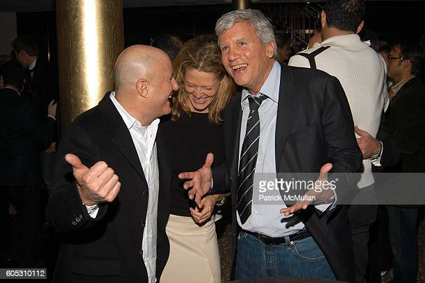 Ron Perelman, Anna Chapman and Larry Gagosian attend ABY ROSEN Birthday Celebration at Chinatown Brasserie on May 15, 2006 in New York City.