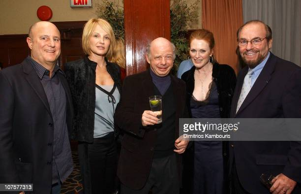 Ron Perelman Ellen Barkin Wallace Shawn Julianne Moore and James Lipton