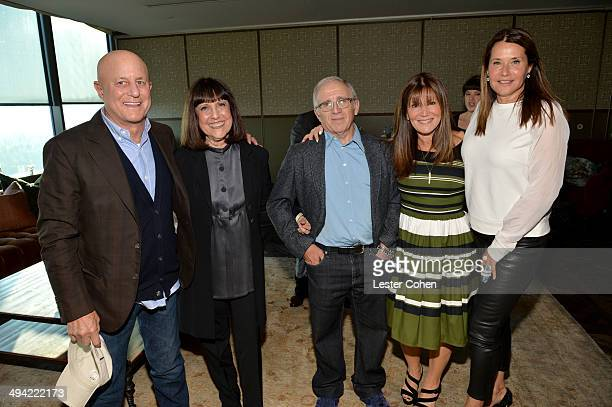 Ron Perelman Lisa Robinson Irving Azoff Shelli Azoff and actress Lorraine Bracco attend the Shelli And Irving Azoff Ronald Perelman Party to...