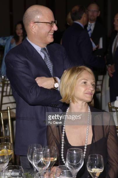 Ron Perelman & wife Ellen Barkin during NRDC's 4th Annual Forces For Nature Gala Event Honoring Trudie Styler, Dan Tishman And Gary Trudeau With...