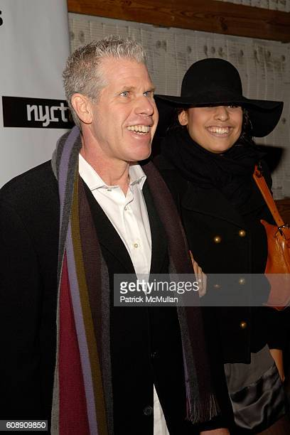 Ron Perlman and Blake Perlman attend The 17th Annual GOTHAM AWARDS at Steiner Studios on November 27 2007 in New York City