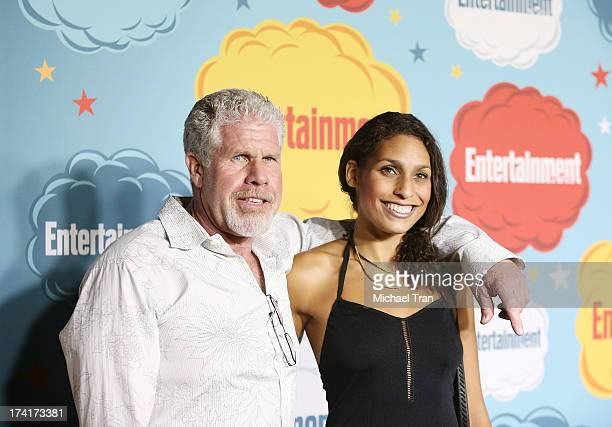 Ron Perlman and daughter Blake Perlman arrive at the Entertainment Weekly's Annual ComicCon celebration held at Float at Hard Rock Hotel San Diego on...